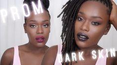 Dark Skin Prom & Special Occasion Makeup Tutorial