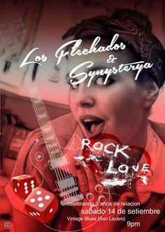 Rock Love Concert  los flechados y synysteria  setiembre 2013