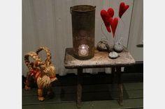 Ting å lage: Hjerter av ull
