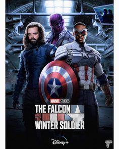 Definitely my most anticipated out of everything announced at SDCC. Are you excited for The Falcon and the Winter Soldier Disney Plus… Marvel Comic Universe, Comics Universe, Marvel Cinematic Universe, Bucky Barnes, Winter Soldier, Marvel Heroes, Marvel Dc, Disney Marvel, Hero Poster