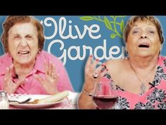 These Italian Grandmothers Try Olive Garden For The First Time And Their Reactions Are Hilarious - Trendzified