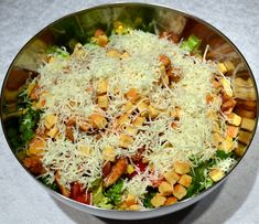 Salad Bar, Greek Recipes, Finger Foods, Curry, Food And Drink, Cooking Recipes, Yummy Food, Ethnic Recipes, Salads