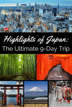 If you only have one chance to visit Japan, where to go? Our Ultimate 9-day Trip - featuring Tokyo, Hakone, Kyoto and more - is the perfect place to begin.