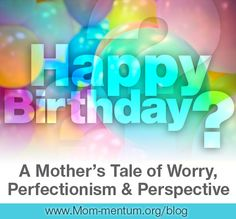 """I can SO relate having to kids with Dec. Birthdays myself!!! > When was the last time you made a decision for your children and/or your family that didn't pan out the way you had expected? How do you work to """"let it go"""" and curb the worry that comes with making nearly every parenting decision—whether big or small?"""