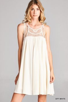 Your Biggest Fan Dress in Ivory