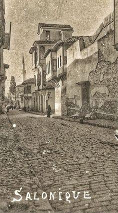 🇬🇷 Thessaloniki, Historical Pictures, Macedonia, Old Photos, Night Life, Coastal, Buildings, Europe, Island