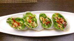 involtini di sfoglia di riso verdure e aceto. ristorante coreano Bi Won. http://bettinaincucina.blogspot.it/2015/02/roma-una-fuga-romantica.html