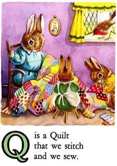 q is for quilt - page pic.