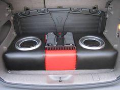 Ryan gave his 2001 Chrysler PT Cruiser killer bass with gear from Crutchfield. #RockfordFosgate #srslyDIY