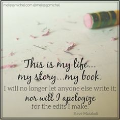 Today is the first page of my new book of my life..today is the first day of the rest of your life..