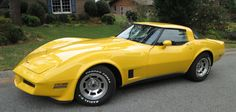 1980 Chevrolet Corvette in Yellow