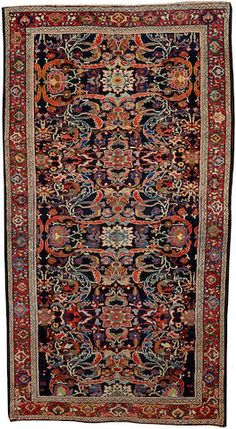 Mahal carpet  Central Persia  circa 1920  size approximately 5ft. 6in. x 10ft. 2in.