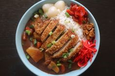 Healthy Japanese Food: Curry Rice at Home
