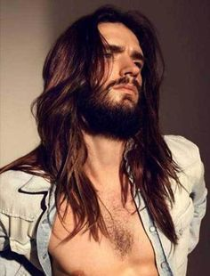 Classy Long Hair Of Men
