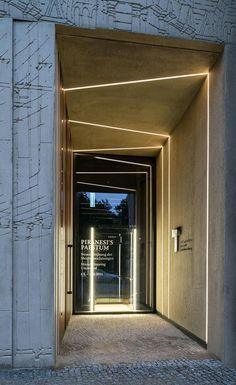 Lighting at the seams. Tchoban Foundation – Museum for Architectural Drawing…