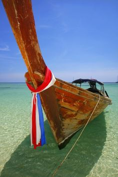 Sailing in Thailand:  If Thailand were not already photogenic enough - someone added longtails!