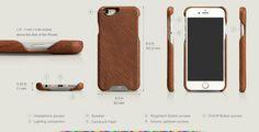 Premium iPhone 6/6s Plus Leather Case