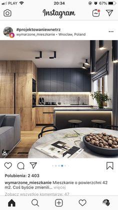 Modern Kitchen Paint, Kitchen Room Design, Kitchen Cabinet Design, Modern Kitchen Design, Home Decor Kitchen, Interior Design Kitchen, Home Kitchens, Küchen Design, House Design