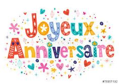 Joyeux Anniversaire Happy Birthday in French vector image on VectorStock Happy Birthday In French, Happy Birthday Wishes, Friend Birthday, Birthday Greetings, Birthday Cards, Birthday Stuff, Birthday Ideas, Birthday Images, Birthday Quotes
