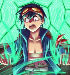 Gurren Lagann: Simon by pinali on DeviantArt