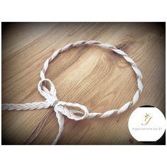 Χειροποίητα στέφανα γάμου...ρομαντικά...vintage...δαντέλα...λινάτσα...πέρλες... Unique wedding crowns...handmade creations for your special day... Bracelets, Silver, Wedding, Vintage, Jewelry, Fashion, Valentines Day Weddings, Moda, Jewlery
