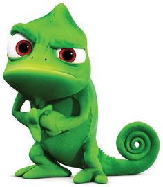 Pascal the Chameleon from Tangled, the animated movie featuring the Mandy Moore as the voice of Rapunzel. Disney Rapunzel, Rapunzel Film, Rapunzel Flynn, Dvd Disney, Walt Disney, Disney Love, Disney Pixar, Disney Princess, Disney Cruise