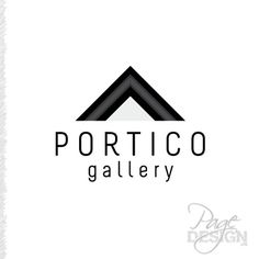 Logo for Portico Gallery Rotorua, New Zealand