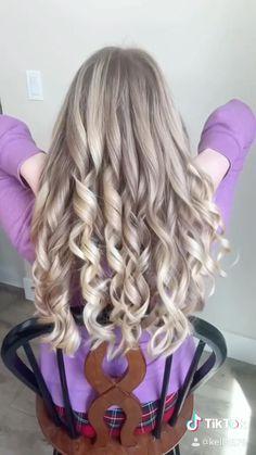 Summer Hairstyles, Cute Hairstyles, Long Wavy Hair, Loose Waves, Beach Waves, Curly Hair Styles, Asmr, Beauty, Summer Hairdos