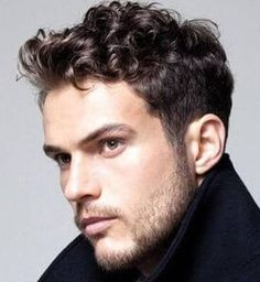 Curly hair cuts mens