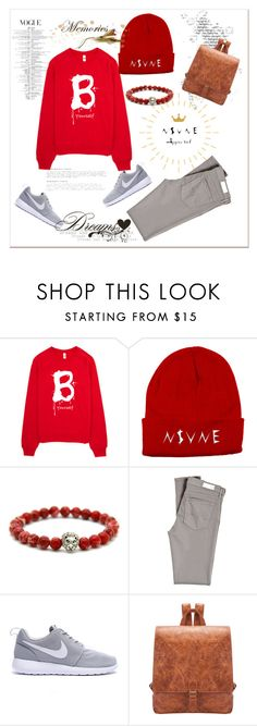 """""""nsvne apparel"""" by woman-1979 ❤ liked on Polyvore featuring AG Adriano Goldschmied, nsvne and nsvneapparel"""
