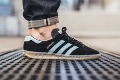 "adidas Originals Hamburg ""Black & Blush Blue"" - EU Kicks: Sneaker Magazine"