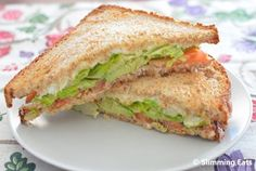 Slimming Eats: Avocado and Tomato Toasted Sandwich Vegan Slimming World, Slimming Eats, Slimming World Recipes, Toast Sandwich, Grilled Sandwich, Sandwich Toaster, Veggie Recipes, Snack Recipes, Dinner Recipes