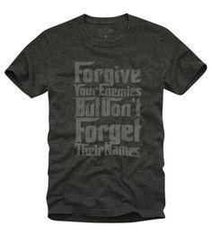 camiseta forgive your enemies