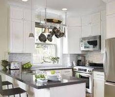 white cabinets gray countertop - Google Search
