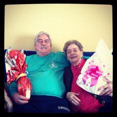 dad & old mama