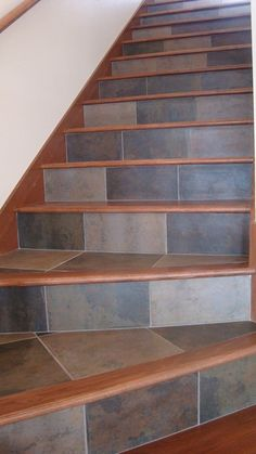 Two Tone Oak Staircase Diy In 2019 Pinterest Stairs