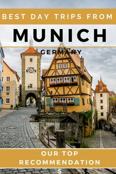 Enhance your trip by taking one of the best day trips from Munich on your next trip to Germany. Our favorite cities, tours and road trip recommendations. Europe Travel Tips, New Travel, Travel Goals, European Travel, Solo Travel, Travel Destinations, European Vacation, Travel Articles, Travel Guides