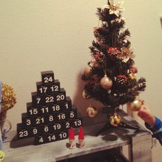 アドベントカレンダー/クリスマス…などのインテリア実例 - 2014-11-22 01:38:26   RoomClip(ルームクリップ)