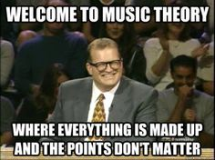 college music theory classes.