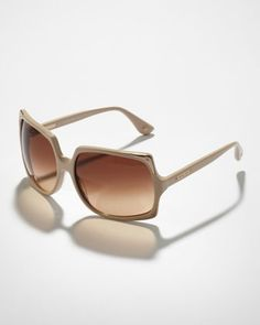 Oversized Sunglasses by Michael Kors at Neiman Marcus.