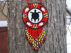 native american turtle necklacepowwow by deancouchie on Etsy, $84.95