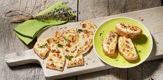 Tarte flambée facile et rapide au fromage frais ail et fines herbes