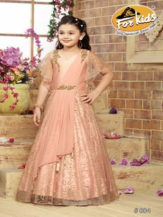 Gowns for Girls Kids Party Wear Dresses, Girls Party Wear, Kids Dress Wear, Kids Gown, Party Gowns, Kids Wear, Kids Frocks Design, Baby Frocks Designs, Gowns For Girls