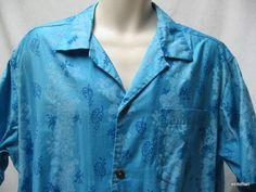 Vintage Royal Hawaiian Aloha Beach Shirt Hibiscus Mens