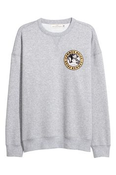 Sweatshirt - Grey marl - Men | H&M GB 1