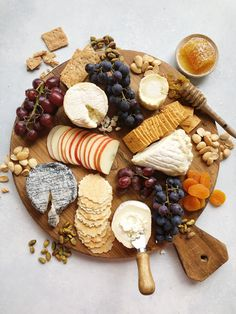 Goat Cheeses of France Cheeseboard recipe by Editors Charcuterie Recipes, Charcuterie And Cheese Board, Cheese Boards, Party Food Platters, Cheese Platters, Cheese Party, Think Food, Aesthetic Food, Food Inspiration