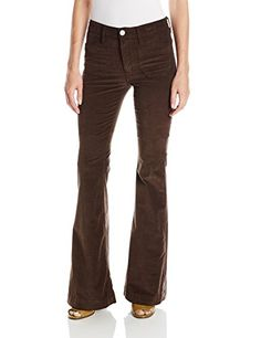 Hudson Womens Taylor Flare Cord In Foxglove Brown 24 >>> Find out more about the great product at the image link.