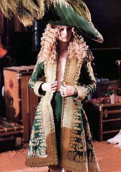 Model at Christian Dior Haute Couture by John Galliano Autumn/Winter 1998.
