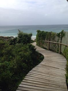 Walkway to Robberg Beach, Plettenberg Bay South Africa