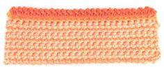 Bernat: Stitch Gallery - Double Crochet Corded